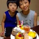 長男の13歳の誕生日