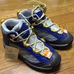 次男の新しい登山靴